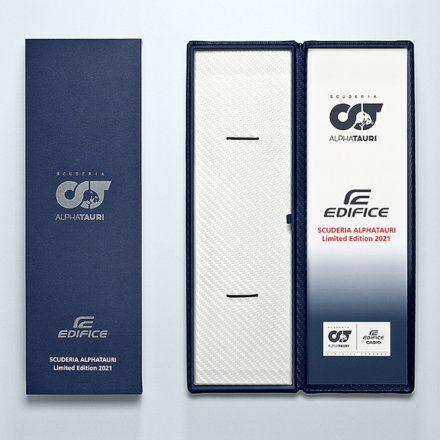 Zegarek Męski Casio EQB-1000AT-1AER Edifice Premium Scuderia AlphaTauri Limited Edition EQB 1000AT 1A