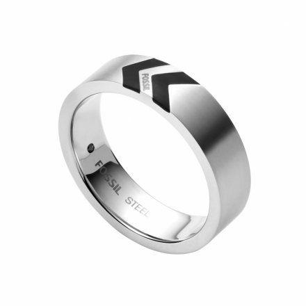 BIŻUTERIA FOSSIL Srebrny Pierścień męski r.25 JF03728040