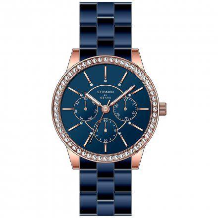 S707LMVLSL Granatowy zegarek Damski Strand by OBAKU