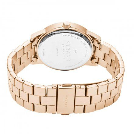 S707LMVVSV Różowozłoty zegarek Damski Strand by OBAKU