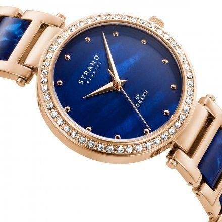 S713LXVLSL Różowozłoty zegarek Damski Strand by OBAKU