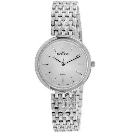 Zegarek damski Rubicon złoty z bransoletą RNBE33SISX03BX