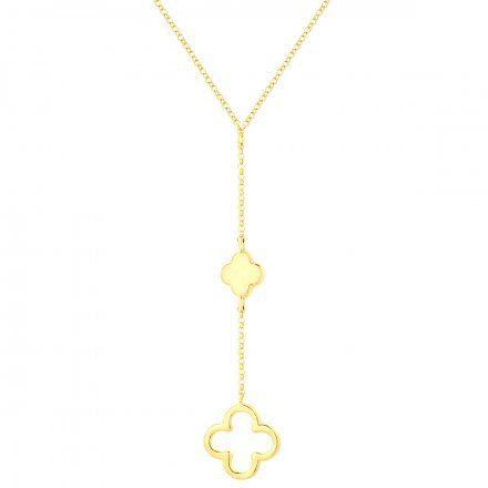 Naszyjnik srebrny pozłacany Biżuteria Ditta Zimmermann DZN403/MRC/Z