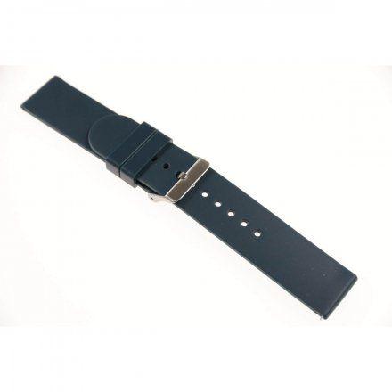 Pasek do smartwatcha Rubicon Pasek granatowy RNCE40 22 mm