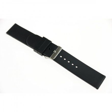 Pasek do smartwatcha Rubicon Pasek czarny RNCE40 22 mm