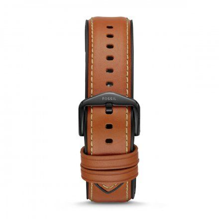 Brązowy pasek Smartwatch Fossil FTW1206 22 mm