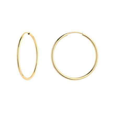 Biżuteria SAXO Kolczyki Złote Koła 7-17-K00683-1.00