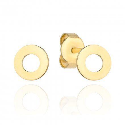Biżuteria SAXO Kolczyki Złote Ring 7-3-K00576-0.59