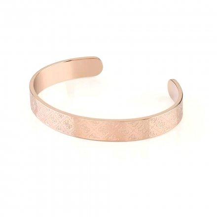 Biżuteria Guess damska bransoletka różowe złoto Golden Hour UBB70143-S