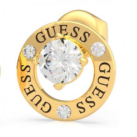 Biżuteria Guess kolczyki złote All Around You UBE20135