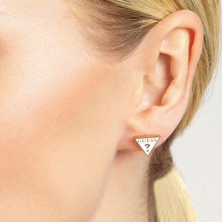 Biżuteria Guess kolczyki złote Dream&Love UBE70124
