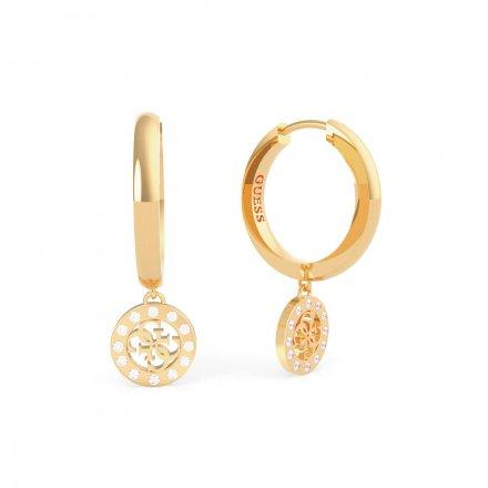 Biżuteria Guess kolczyki złote Guess Miniature UBE79043