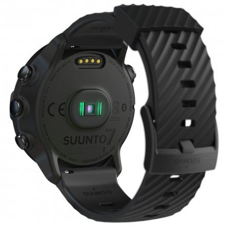 Suunto Zegarek Smartwatch SS050378000 Suunto 7 Black HR WEAR OS