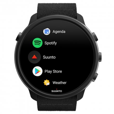 Suunto Zegarek Smartwatch SS050568000 Suunto 7 Matte Black Titanium HR WEAR OS