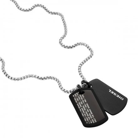 Biżuteria Diesel - Naszyjnik DX1287040
