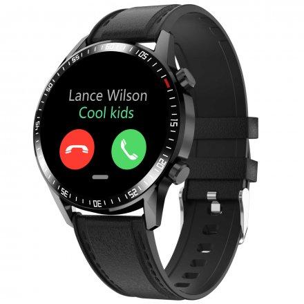 Smartwatch Garett GT24S RT czarny z paskiem