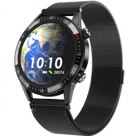 Smartwatch Garett GT24S RT czarny z bransoletą