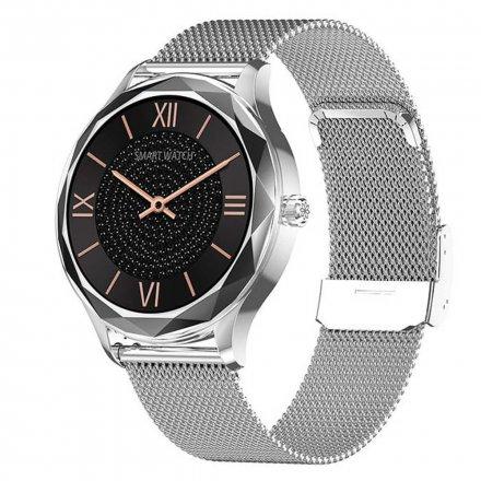 Smartwatch Garett Lady Ann RT srebrny z bransoletą