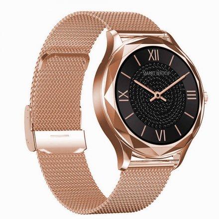 Smartwatch Garett Lady Ann RT złoty z bransoletą
