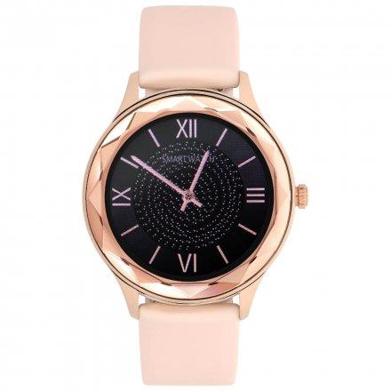 Smartwatch Garett Lady Ann RT złoty-róż z paskiem