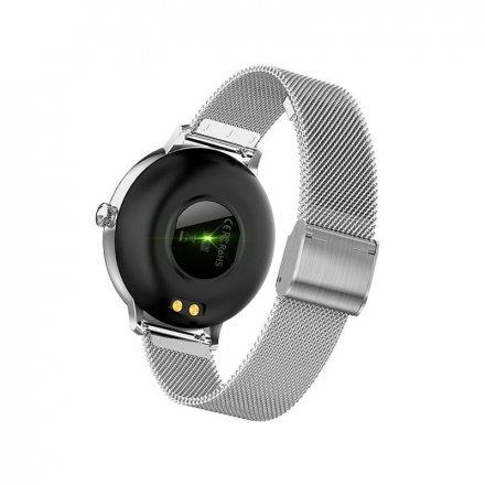 Smartwatch Garett Lady Julia RT srebrny z bransoletą