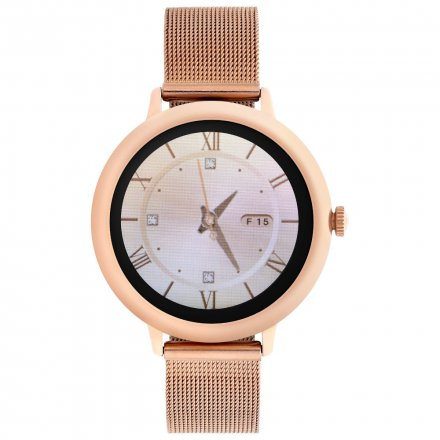 Smartwatch Garett Lady Julia RT złoty z bransoletą
