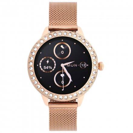 Smartwatch Garett Lady Kate RT złoty z bransoletą