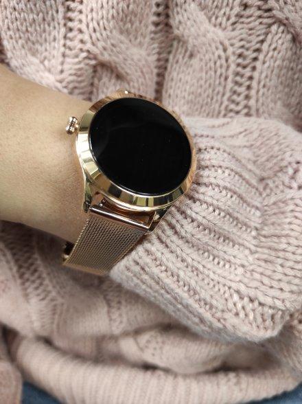 Smartwatch Garett Lady Naomi Pro RT złoty z bransoletą