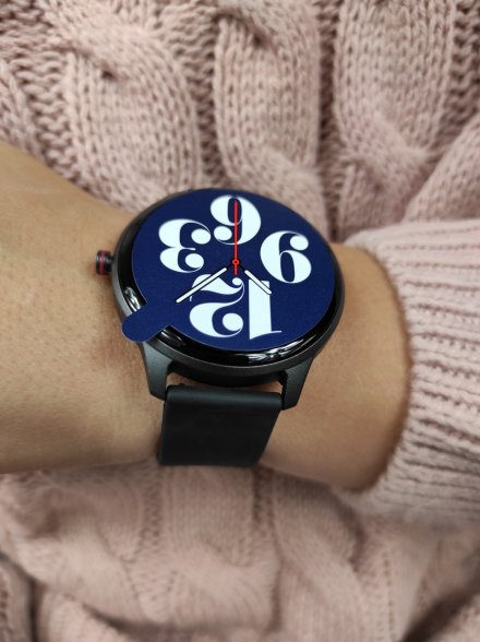 Smartwatch Garett Lady Olivia RT czarny z paskiem