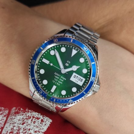 Smartwatch Garett Men Ocean RT srebrno-niebieski z bransoletą