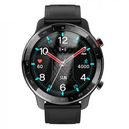 Smartwatch Garett Sport City RT czarny z paskiem