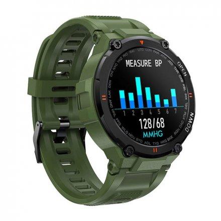 Smartwatch Garett Sport Combat RT zielony z paskiem