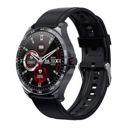 Smartwatch Garett Sport Factory RT czarny z paskiem