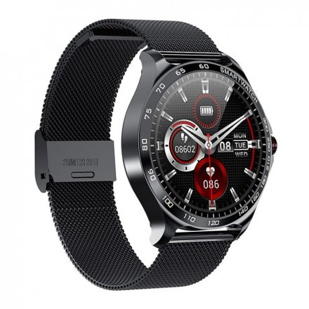 Smartwatch Garett Sport Factory RT czarny z bransoletą