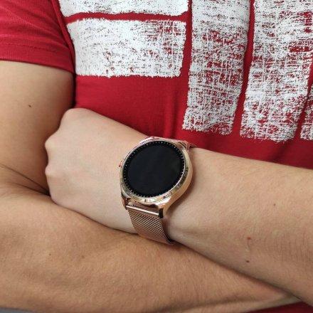 Smartwatch Garett Sport Factory RT złoty z bransoletą