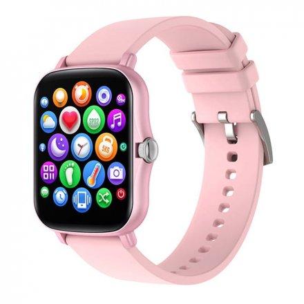 Smartwatch Garett Sport Mode RT różowy z paskiem