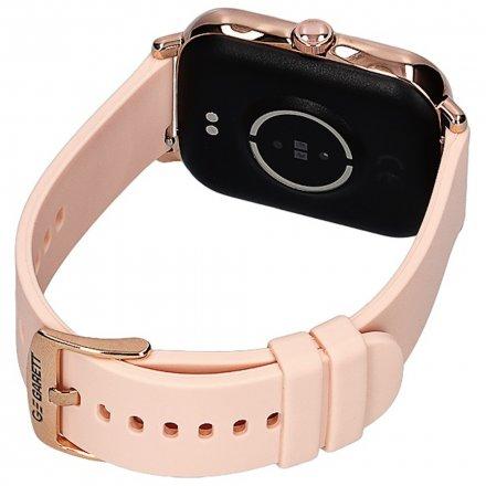 Smartwatch Garett Sport Mode RT złoty z paskiem