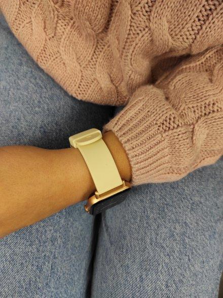 Smartwatch Garett Sport Mode PRO RT złoty z paskiem