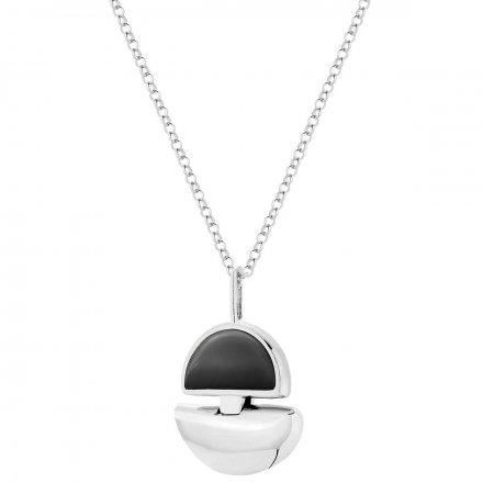 Naszyjnik srebrny z onyksem Biżuteria Ditta Zimmermann DZN392/ONX/R