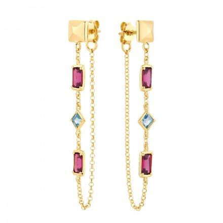 Kolczyki złote Biżuteria Ditta Zimmermann DZK447/276/375