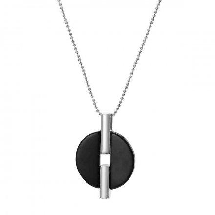 Naszyjnik srebrny z onyksem Biżuteria Ditta Zimmermann DZN4110/ONX/R