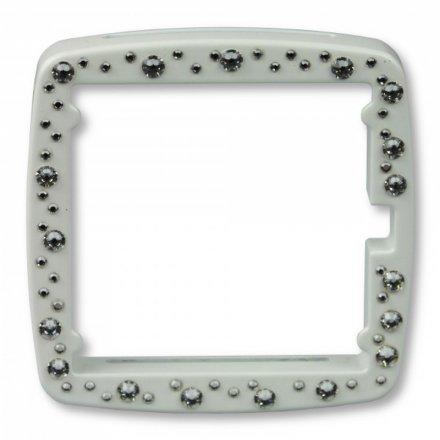 Ramka S.T.A.M.P.S. Full Metal Jack Diamond White 102294 0200
