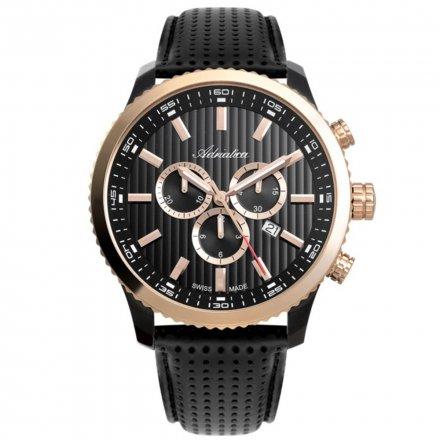 Zegarek Męski Adriatica na pasku A8163.K216CH - Chronograf Swiss Made