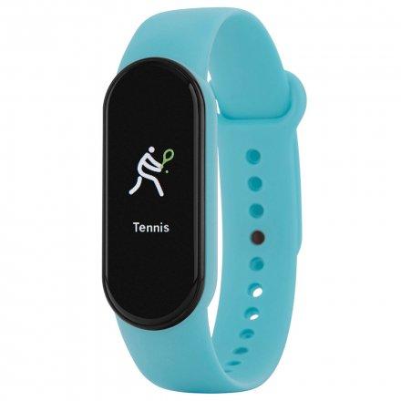 Niebieska opaska sportowa Smartband Marea B57007/10