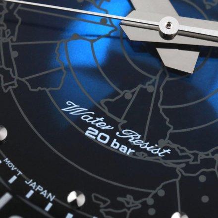 ORIENT RA-AA0E03L19B Zegarek Męski Japońskiej Revival World Map AA0E03L19B