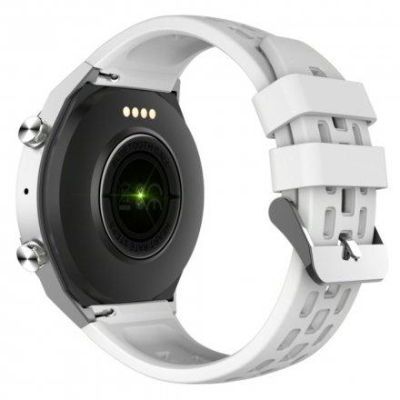 Srebrno-biały smartwatch męski damski Rubicon RNCE68