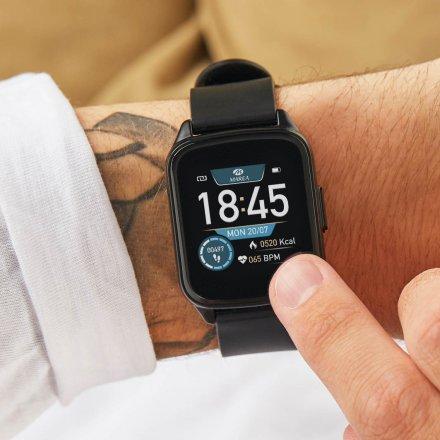 Czarny Smartwatch Marea B59007-1