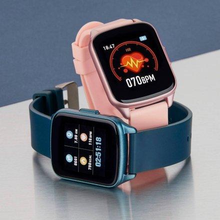 Różowy Smartwatch Marea B59007-3