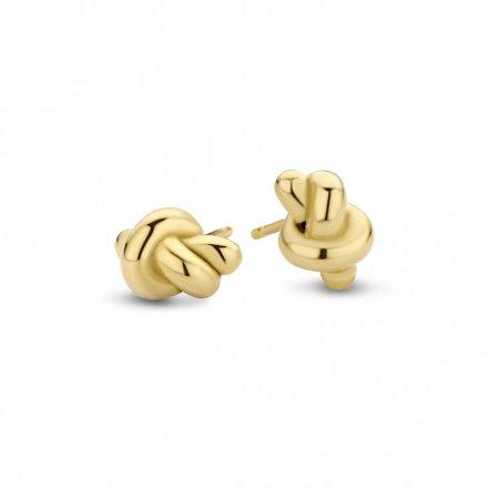 Kolczyki Melano Friends Knot FE25GD00000 Złote