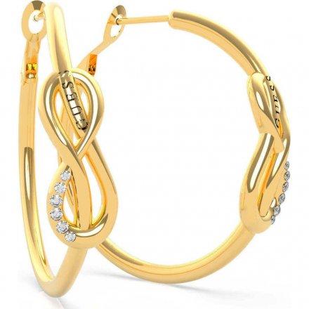 Biżuteria Guess damskie kolczyki UBE20087